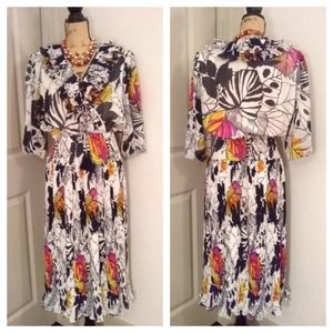 VTG Montage By Mosaic Dress sz M